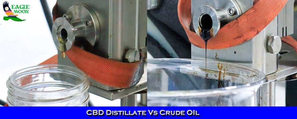 CBD Distillate Vs Crude Oil