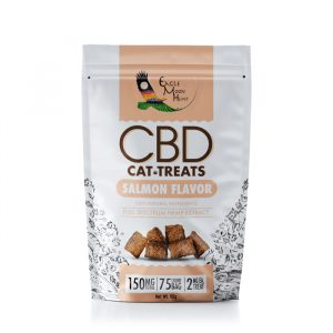 CBD Cat Treats Salmon Flavor Premium Vegan Organic Natural