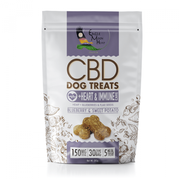 CBD Dog Treats Heart and Immue Care Premium Vegan Organic Natural