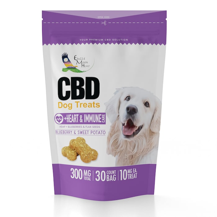 CBD Dog Treats Heart and Immue Care Premium Vegan Organic Natural