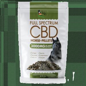 CBD Horse Pellets Stress Anxiety Relief Premium Vegan Organic Natural
