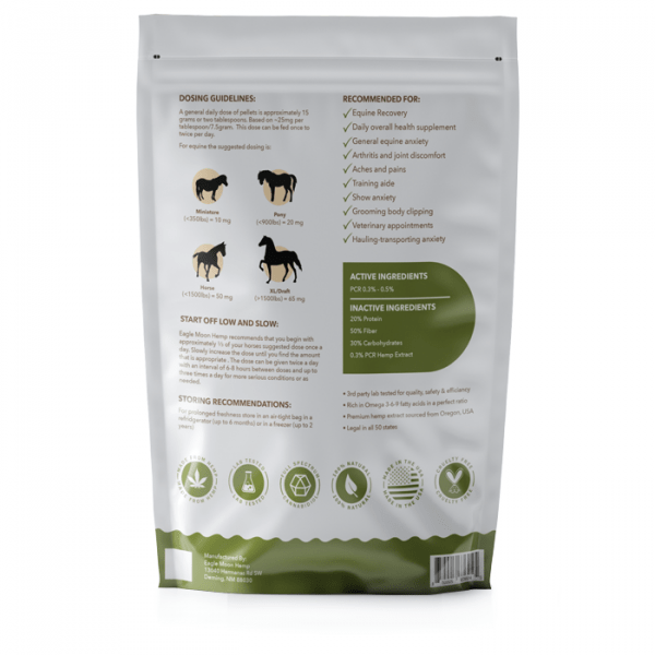 CBD Horse Pellets For Sale