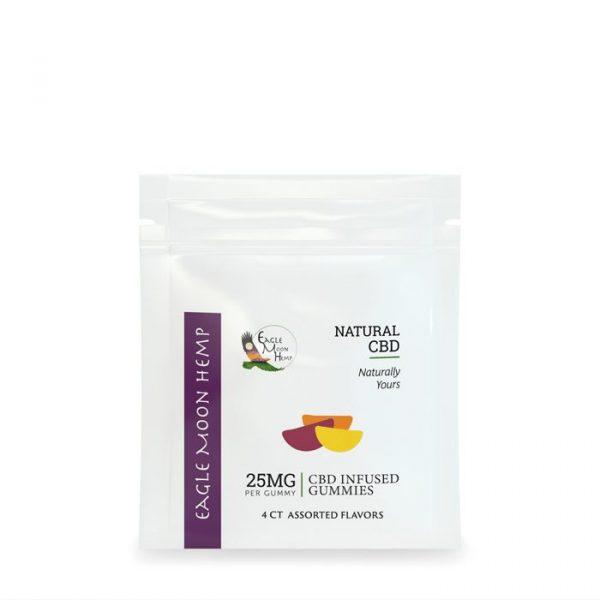 25mg or 50mg Per Dose CBD Gummies For Sale