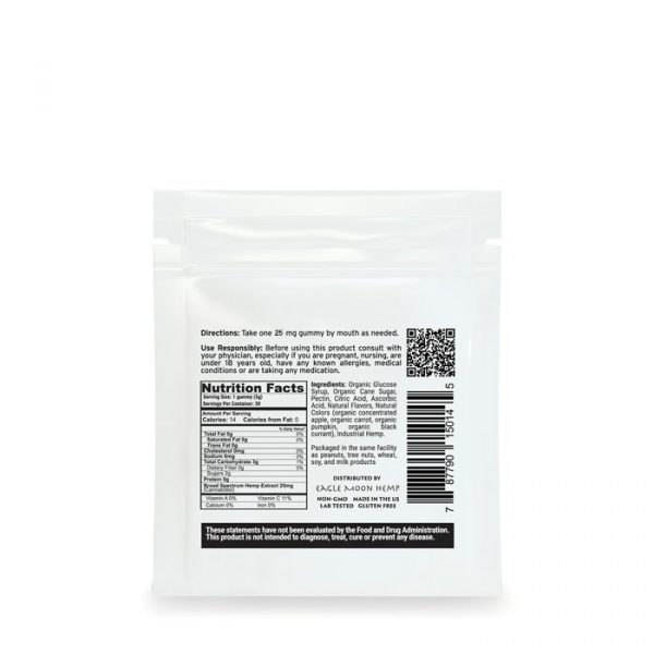 25mg CBD gummies 4 pack