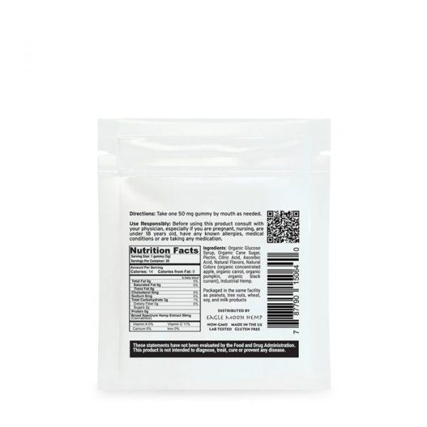CBD Gummies 50mg per gummy 4 pack
