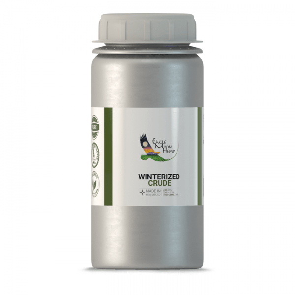Crude Large Front Premium CBD Organic Natural Vegan