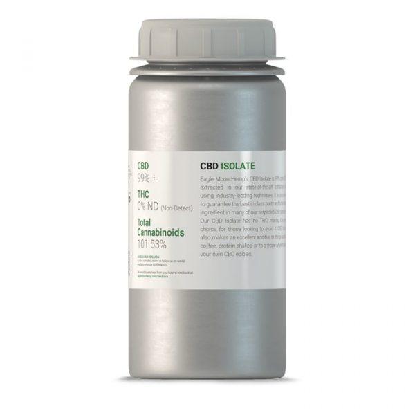 1kilo of CBD Isolate Canister