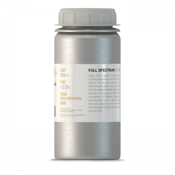 Large Premium Bottle Of Full Spectrum CBD Distillate