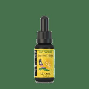 CBD 1000MG Flavored Tincture Organic Natural Pure Potent Premium Grape Strawberry Lemon Blueberry