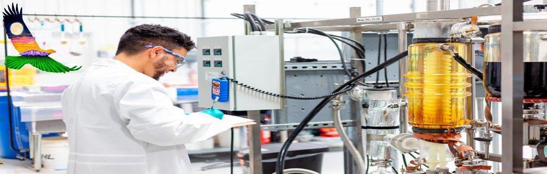 CBD Broad Spectrum Distillate Being Made