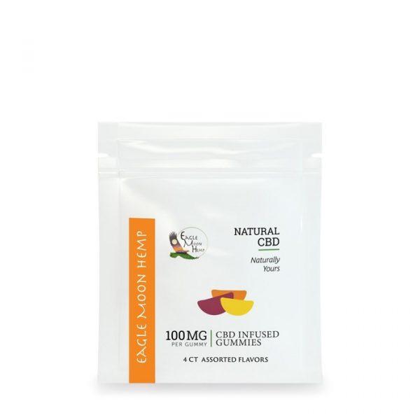 100mg per gummy CBD Gummies 4 Pack