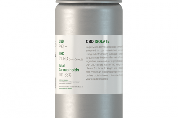 1kilo of CBD Isolate Canister